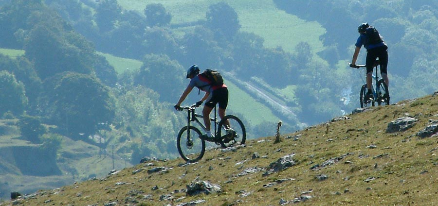 Mountain Biking in Llangollen